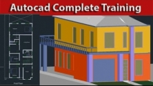 Teachlr.com - Complete AutoCad Course With Drawing Practices in 2D & 3D