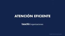 Teachlr.com - Atención Eficiente