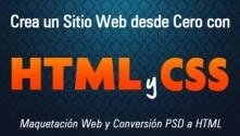 Teachlr.com - Crea un sitio web desde cero con HTML y CSS  (psd a html)