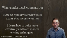 Teachlr.com - How to quickly improve your legal and business writing!
