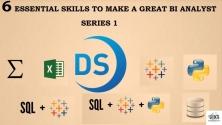 Teachlr.com - 6 Essential Skills to Make A Great BI Analyst Series 1
