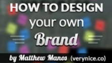 Teachlr.com - How to Design Your Own Brand