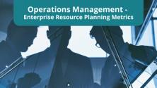 Teachlr.com - Operations Management - Enterprise Resource Planning