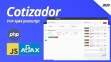 Teachlr.com - Crea un sistema cotizador y aprende PHP Javascript y AJAX