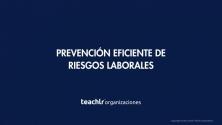 Teachlr.com - Prevención Eficiente de Riesgos Laborales