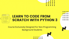 Teachlr.com - Learn Coding From Scratch With Python 3 Step By Step