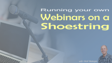 Teachlr.com - Running your own successful webinars on a shoestring