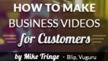 Teachlr.com - How to make business videos for customers