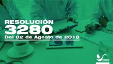 Teachlr.com - Reolución 3280 del 02 de Agosto de 2018