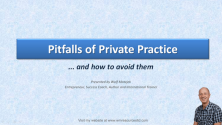 Teachlr.com - Pitfalls of private practice