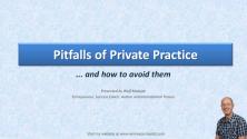 Teachlr.com - Pitfalls of private practice