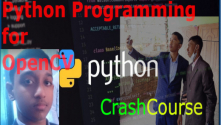 Teachlr.com - CrashCourse of Applied Python Programming for OpenCV