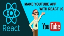Teachlr.com - Make YouTube App with ReactJS - For Absolute Beginners
